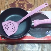 Teflon Fry Pan Maxim Hello Kitty 20cm + Spatula