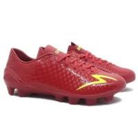 Sepatu bola specs Accelerator exocet fg merah