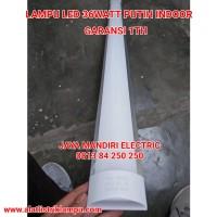 KAP LAMPU TL LED INDOOR 36 WATT PUTIH 36W 36WATT IP45 PLAFON LAMP