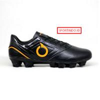 Sepatu Bola Ortuseight Genesis FG ORIGINAL- Black Ortrange