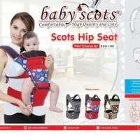 BABY SCOTS Hipseat / gendongan bayi depan