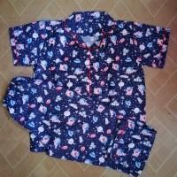 baju tidur dewasa motif doraemon space