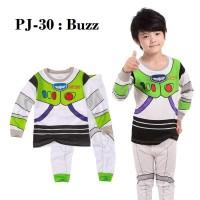 Piyama Anak Superhero Buzz Lightyear Toy Story PJ-30