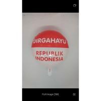 Balon Foil isi 50 dirgahayu republik Indonesia 17 agustus agustusan