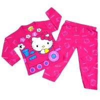 HELLO KITTY 0 - 10 Tahun Baju Tidur Piyama Anak Perempuan Murah