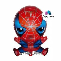Balon Foil Plastik Spiderman / Balon Spiderman Plastik