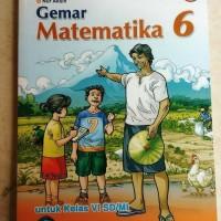 buku gemar matematika untuk SD kelas 6 Bse