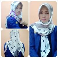Hijab Segi Tiga Instant / Jilbab Instant Segi tiga