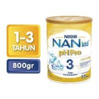 NAN 3 pH Pro Plain 800 Gr Kaleng - 2020 KEATAS