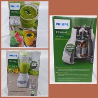 Blender Pelumat 2L PHILIPS 350W HR2115 HR 2115 Motor 2x Lebih Kuat
