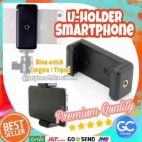 Holder U Smartphone Attanta tripod monopod tongsis HP weifeng