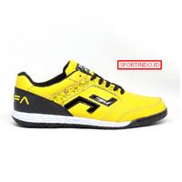 Sepatu Futsal Zethro Alfa 2.0 Leather ORIGINAL - Yellow Bee
