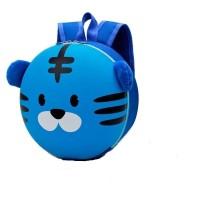 Tas Ransel Anak sekolah/Preschool - PAUD Kartun /Backpack Blue Tiger