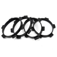 ProTek RC 1/8 Buggy&1/10 Truck Tire Mounting Glue Bands (4) #PTK-2012