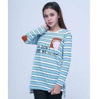 Baju Atasan Wanita Kaos T-Shirt Lengan Panjang Seyes 4538- Spandex