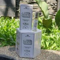 Parfum Al Rehab/Ar Rehab/Silver 6ml Non Alkohol Original Saudi/Jeddah