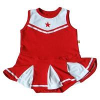 Jumper Bayi Perempuan PLEU Kodok Cheerleader