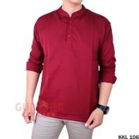 Baju Muslim Pria Modern Kekinian KKL 106