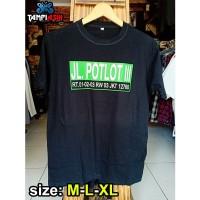 POTLOT - Lengan Pendek - Baju Slank - Kaos Slank - Tampiasih Store
