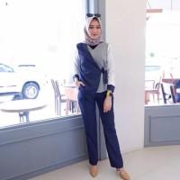 Narafha Square set / setelan hijab / baju kerja / muslimah set