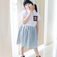 Baju SMA DILAN MILEA   Dress Kekinian Dilan Milea   Dress SMA Anak