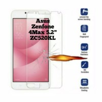 Tempered Glass CLEAR/ Anti Gores Kaca Asus Zenfone 4Max 5.2 (ZC520KL)