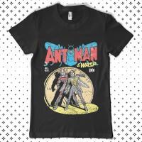 Kaos Movie Cotton Combad Original Antman - Old Comic - S
