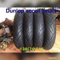 ban dunlop scoot smart uk 120 70 ring 15 copotan xmax 2nd like new