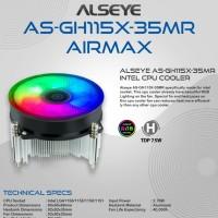 Alseye Fan Processor AS-GH115X-35MR AIRMAX Auto RGB