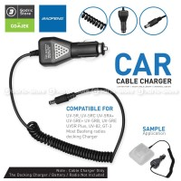 Car Charger HT Walkie Talkie Baofeng Ligther Adapter Mobil UV5R 82 Etc