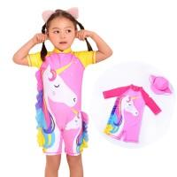 Unicorn girl swimsuit baju renang anak perempuan unicorn onesuit