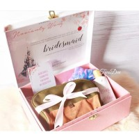 Hampers Box Bridesmaid Kado Souvenir Angpao Pengapit Wedding Bestman