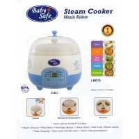 Baby Safe LB010 Digital Steam Cooker Alat Masak Kukus Makanan Bayi