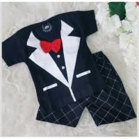 Tuxedo Tie - Setelan Baju Bayi Lucu