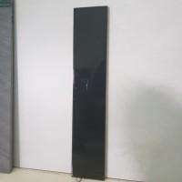Plint Keramik Hitam Polos 10x40