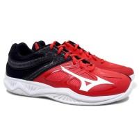 Sepatu Volly Mizuno Thunder Blade 2 (Tomato/White/Black)