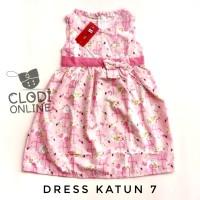1 2 3 tahun baju dress katun jepang anak perempuan 7