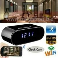 Desk-clock Wifi Spy Camera (model Jam Meja) - Support iOS/Android