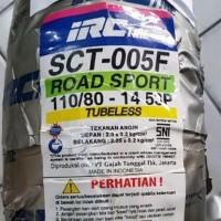 Ban IRC Tubeless 110/80-14 SCT005F ROAD SPORT