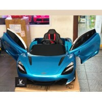 Mainan Mobil Aki Anak McLaren Licensed Ban Karet