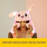Topi tik tok LED unicorn Topi Korea Unicorn dg lampu LED topi anak