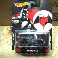 HotWheels Retro Batmobile Batman vs Superman Ban Karet