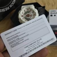 Jam Tangan Casio G-Shock/gshock GA 110 White Gold Original BM