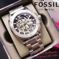 Jam Tangan Pria Merk Fossil Original ( 4.6 cm ) Type : ME3081 Free Box