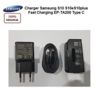 Charger Samsung Original Fast Charging Type C S10 S10+ S9 S9+ S8 S8+