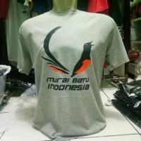 kaos burung murai batu Indonesia - Abu-abu, S
