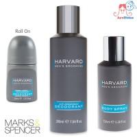 Marks & Spencer HARVARD Anti Perspirant / Roll On Deodorant/Body Spray