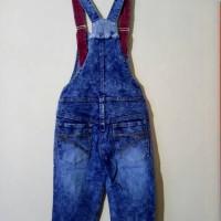 Wearpack Overal Baju Kodok Jeans Anak Perempuan Umur 8-9-10 Tahun