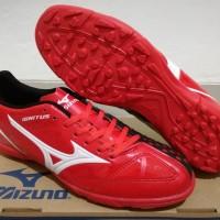 Sepatu Futsal Mizuno Wave Ignitus 4 Bright Red Black - OL2