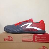 Sepatu Futsal Specs Equinox IN Dark Granite Red 400771 OL2